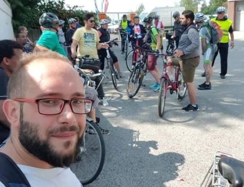 """""""Willkommen in Wermelskirchen"""" auf Radtour"""