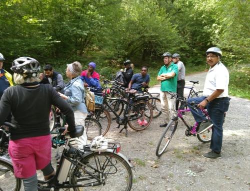 Integration beim Fahrradfahren: Die Tour um die Sengbach Talsperre