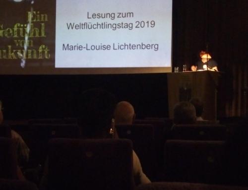 """""""Ein Gefühl von Zukunft"""": Marie-Louise Lichtenberg las im Film-Eck"""