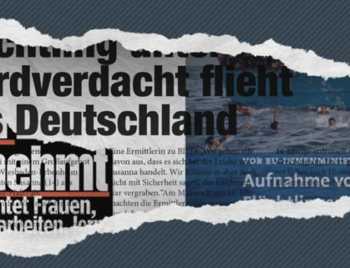 """""""FÜNF JAHRE MEDIENBERICHTERSTATTUNG ÜBER FLUCHT UND MIGRATION"""""""